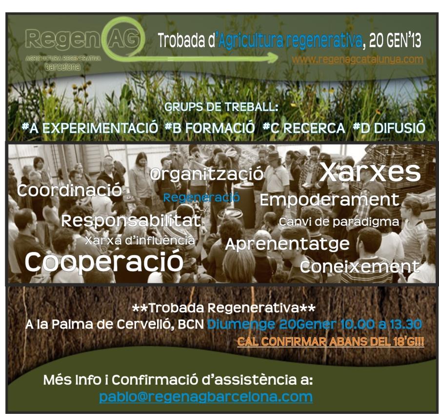 Agricultura Regenerativa Barcelona Trobada 2013